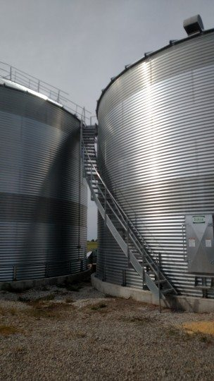 Koester - Grain System - Image #1 - Twin 33K Buschel Drying - Storage