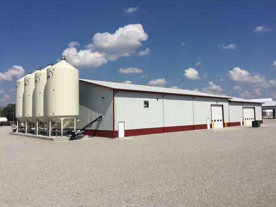 #1 GFS Seed Treatment Plant Pole Barn Building
