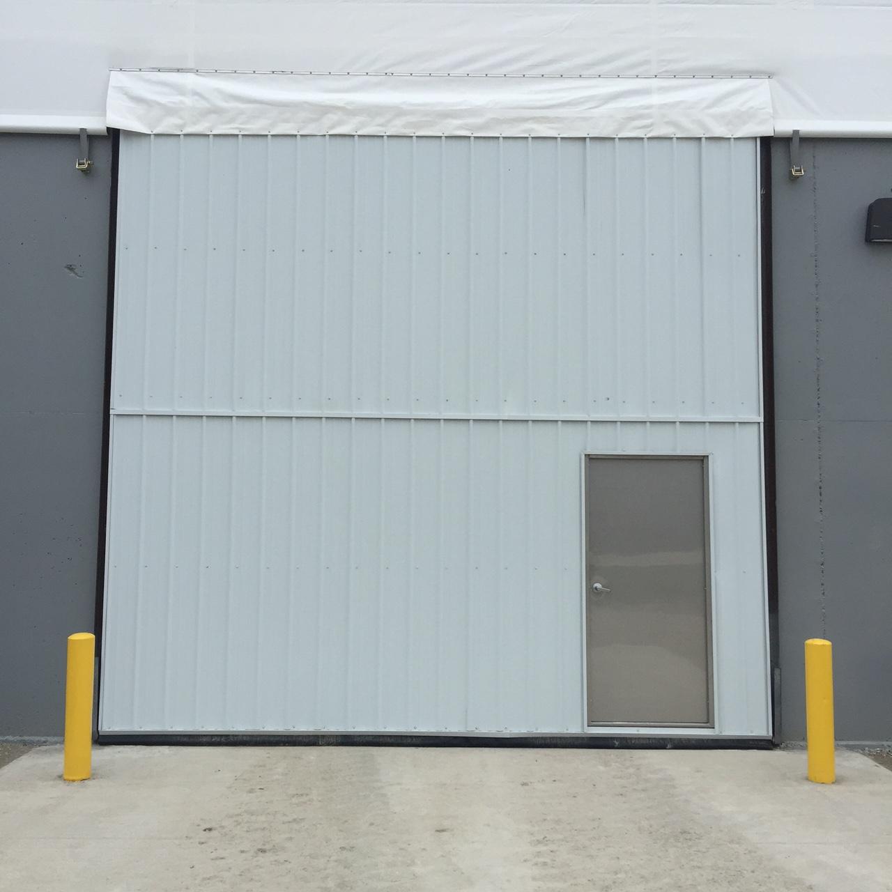 bi fold hanger door fs construction services