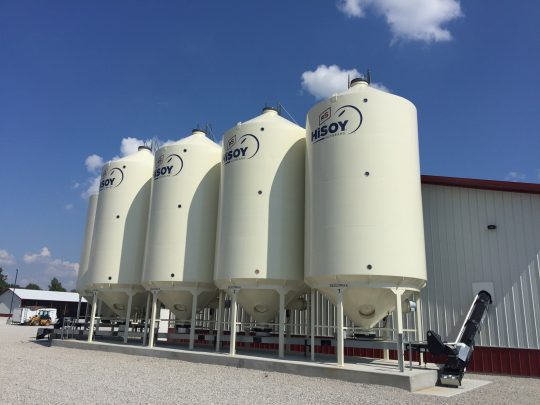 #4 GFS Seed Treatment Plant HiSoy Seed Storage FS Construction Services Pole Barn