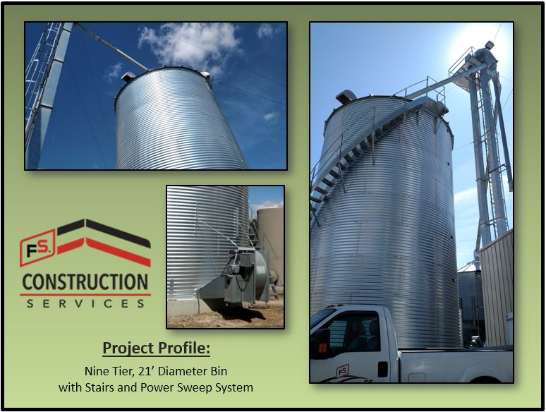 & Project Profile: A 39u0027 Tall Grain Bin That Means More