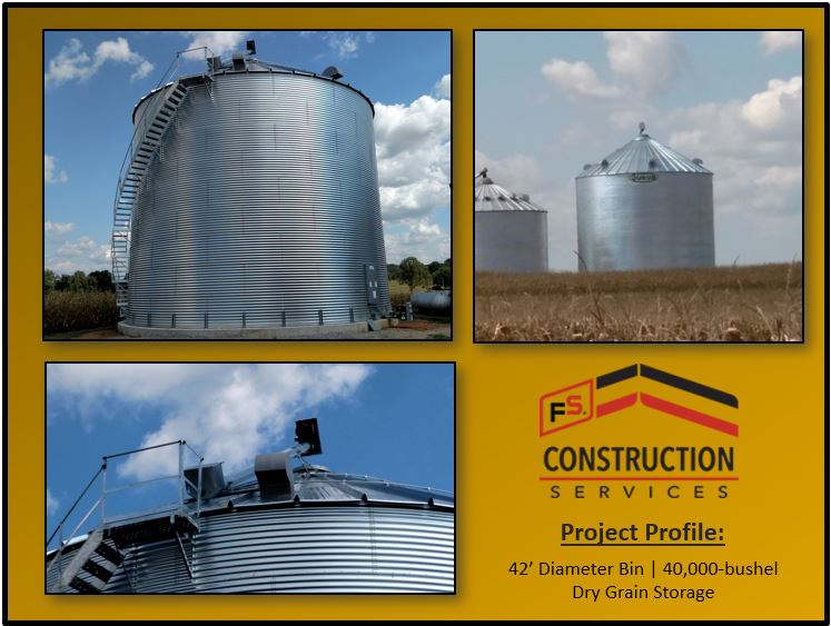 Grain storage large bushels