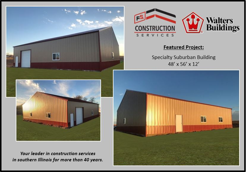 FS Construction Services Walters Storage Building