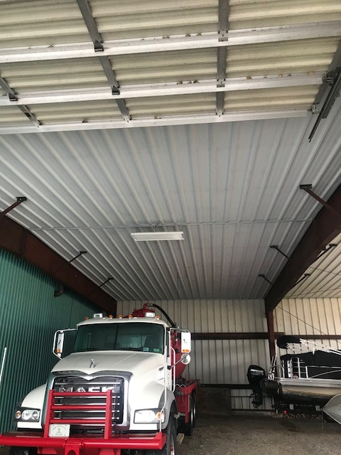 FS Construction Services metal roof liner