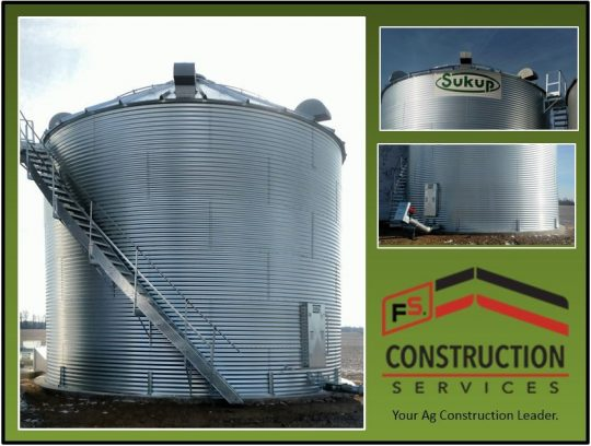 Sukup Grain Bin Less than 3 Weeks