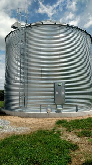 Travis Grain Storage Bin Exterior Shot - JJ