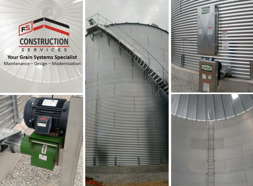 FS Construction Services grain bin