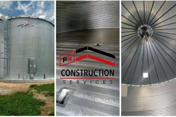 FS Construction Services grain bin project profile