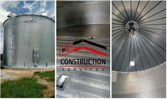 Gateway FS Construction Services grain bin Sukup