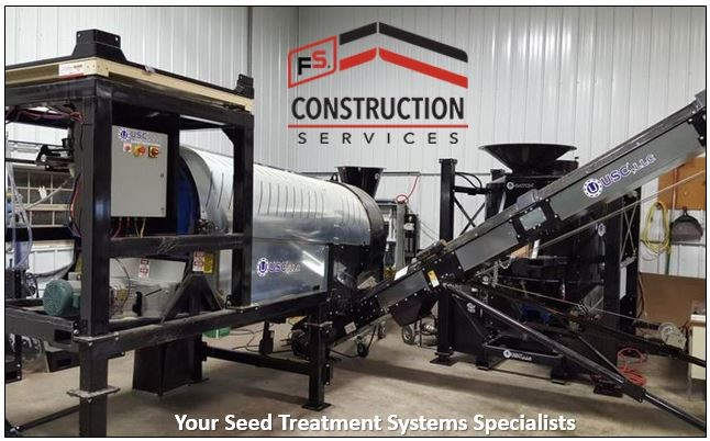 FS Construction Services seed treatment equipment