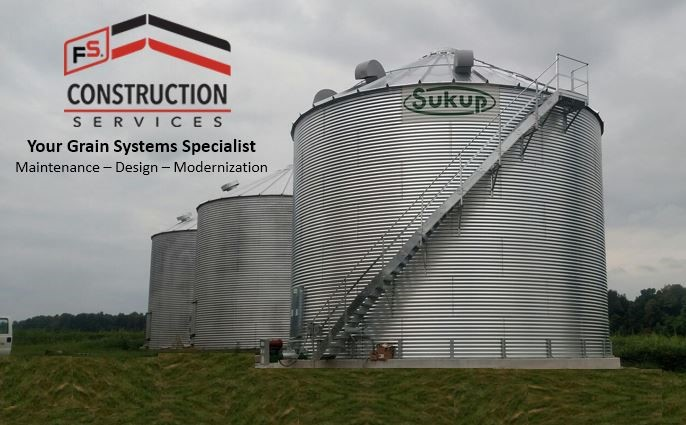 FS Construction Services grain bin vent maintenance
