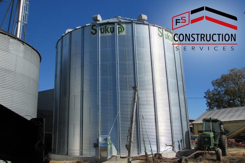 FS Construction Services grain bin project profile