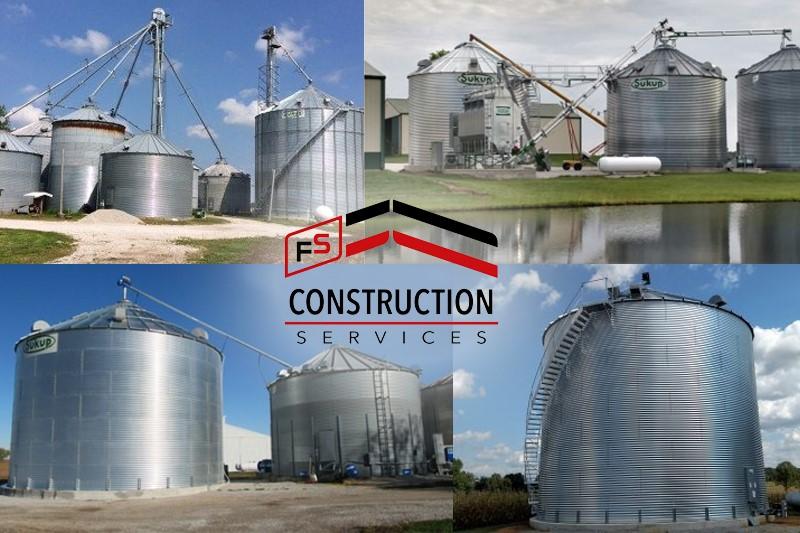FS Construction Services grain storage