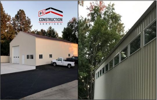 Gateway FS Construction Services metal building