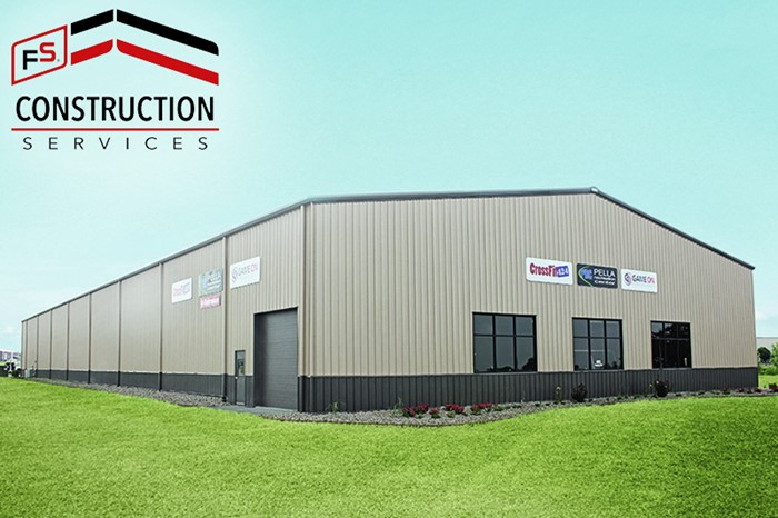 FS Construction Services steel buildings