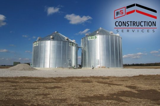 FS Construction Services new grain bins