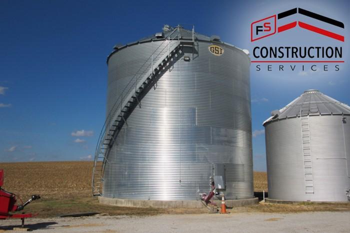 FS Contruction Services makes grain bin taller