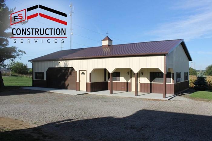 FS Construction Services pole barn
